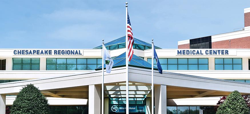 Chesapeake-Regional-Medical-Center-entrance
