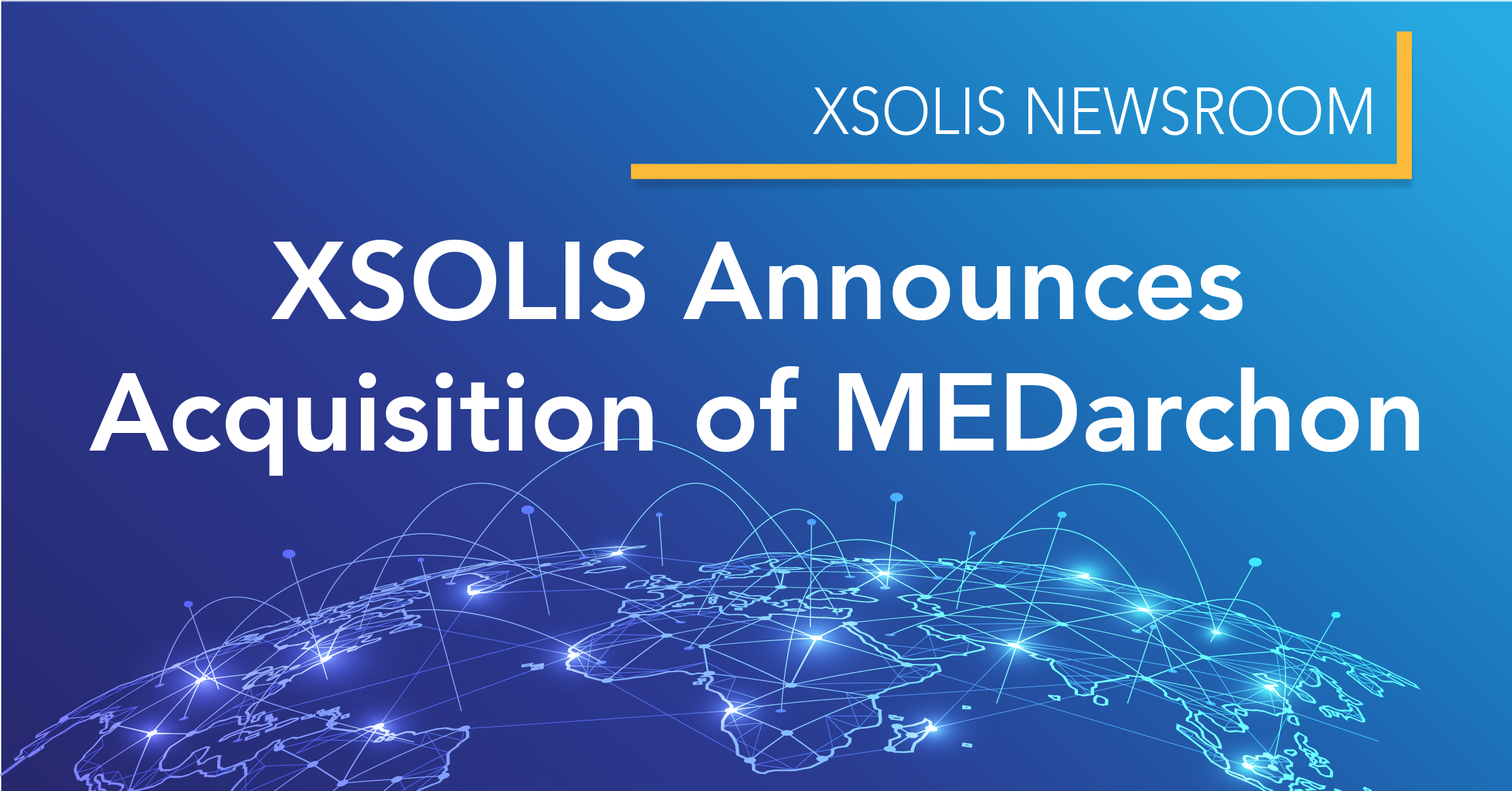 XSOLIS Announces Acquisition of MEDarchon