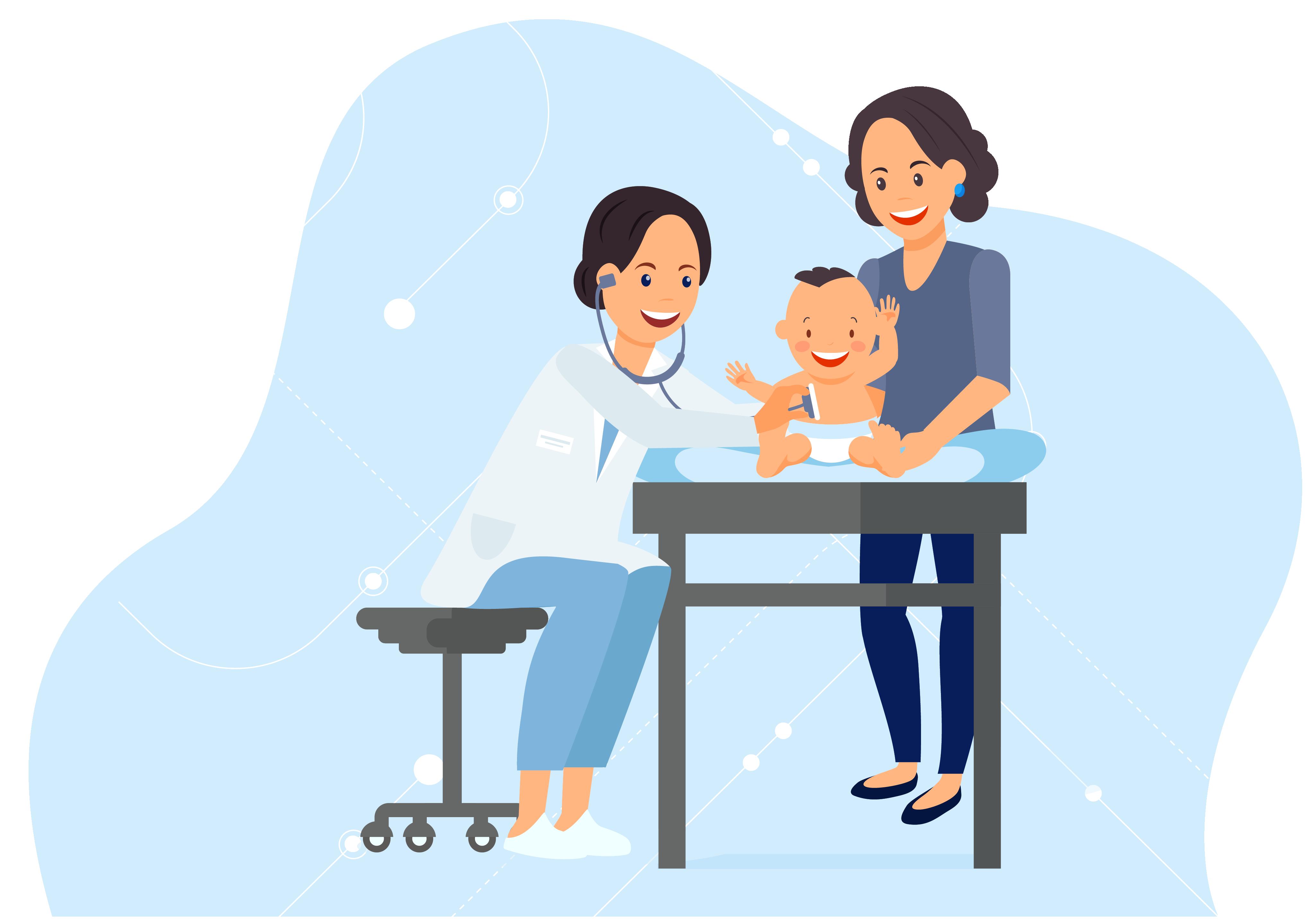 Pediatrics Hero Illustration