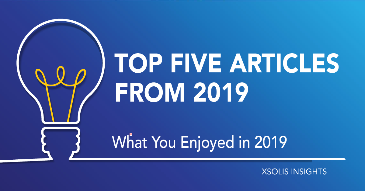 Top Five Articles from 2019