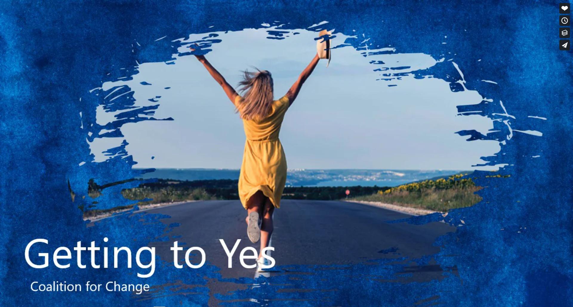 XCHANGE 2020 Getting to Yes